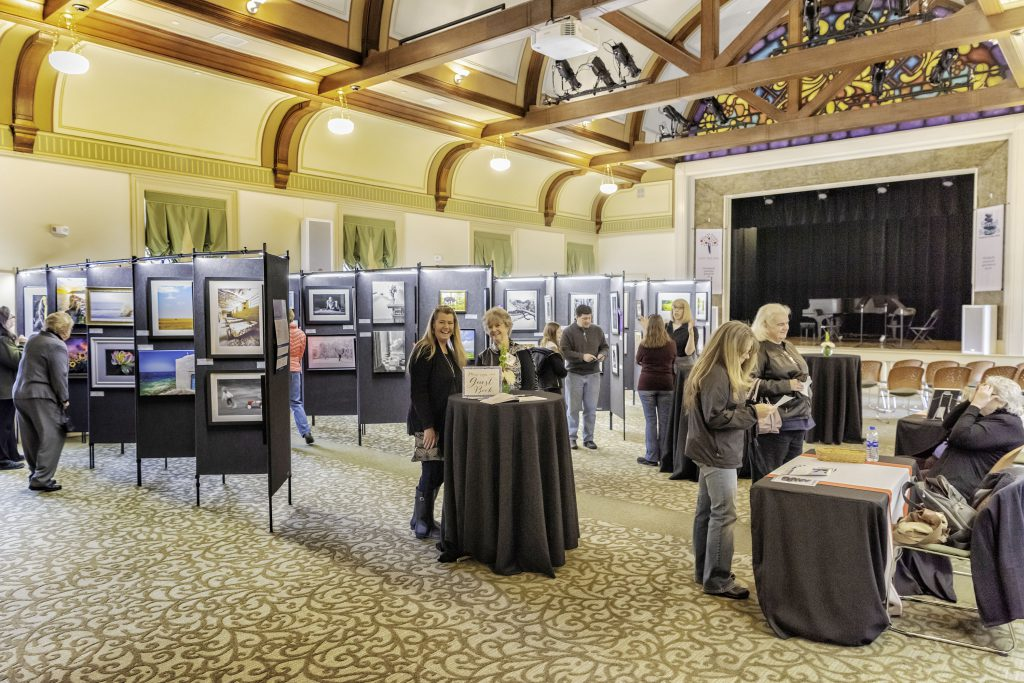 Art Exhibition in the Great Hall