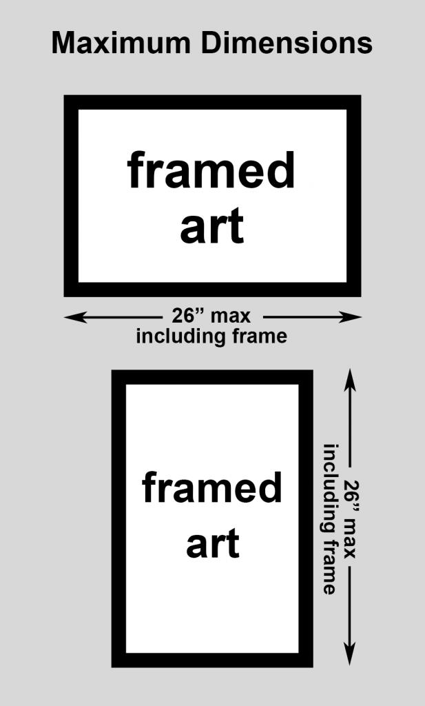maximum dimensions